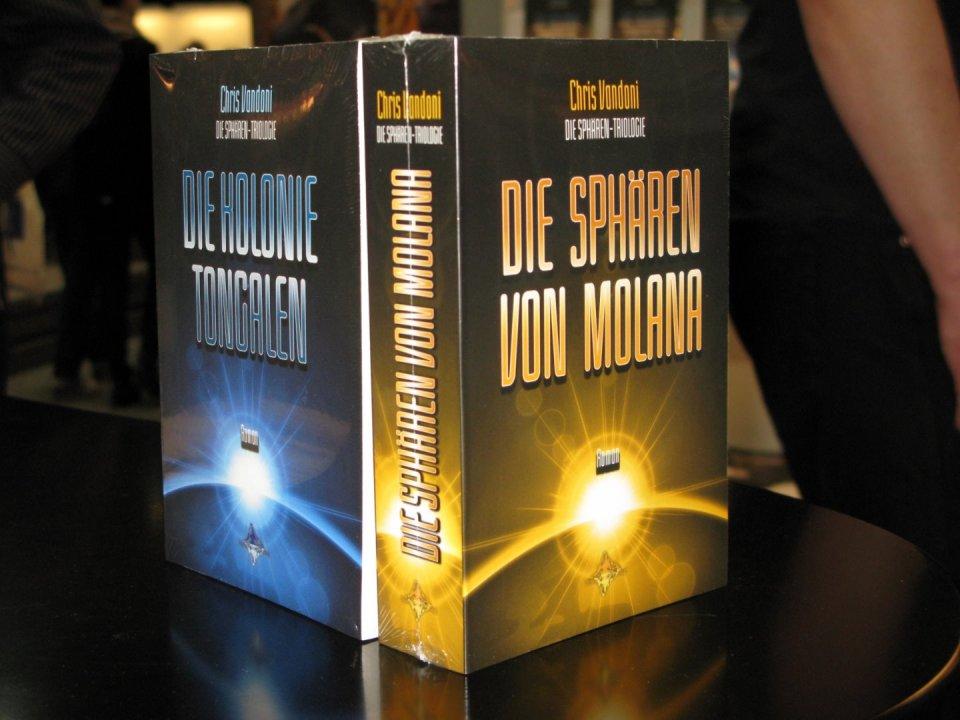 Meine beiden Bücher an der Buchmesse in Leipzig