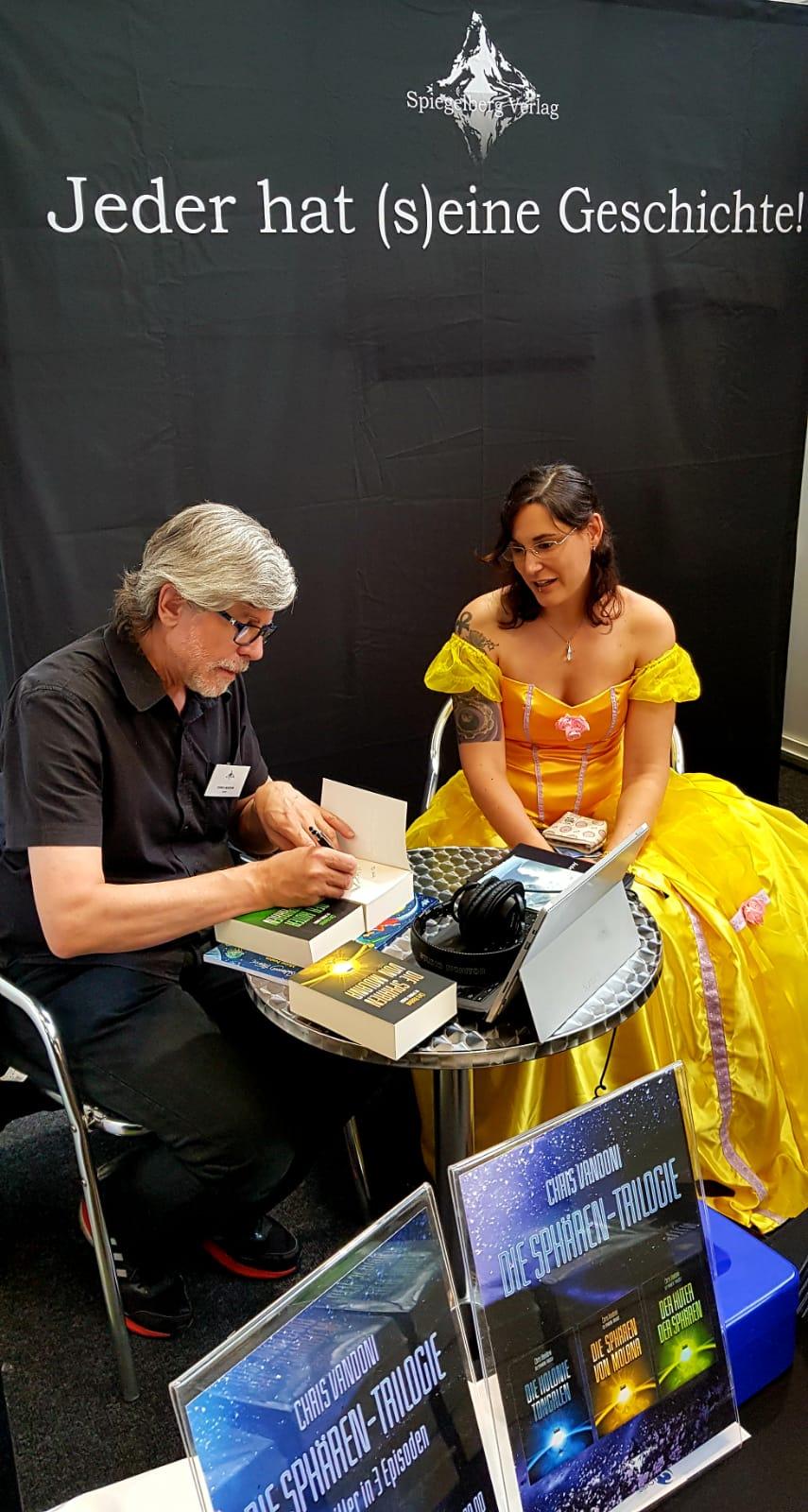 Buchsignierung für Melody
