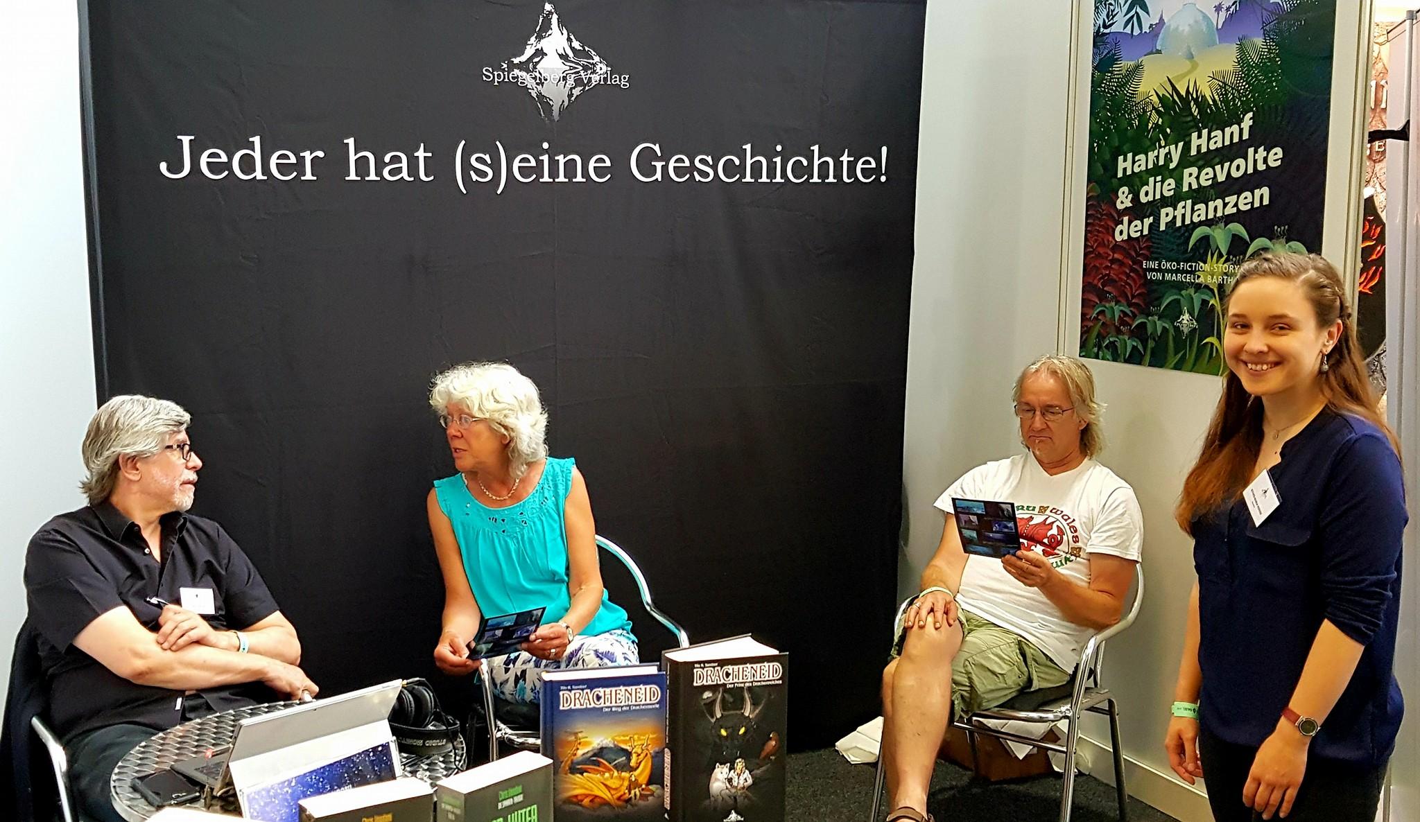 Gespräch unter Autoren