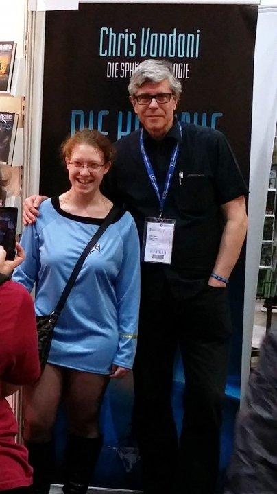 Chris Vandoni mit Fan