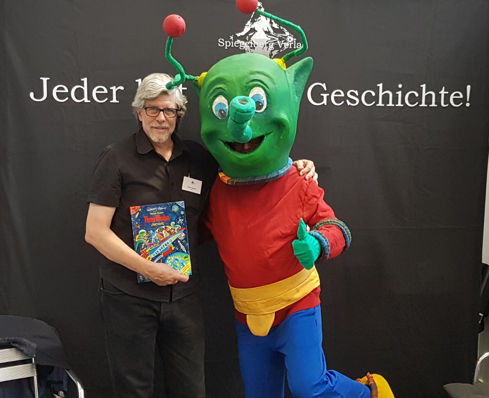 Besuch von Reinhard Habek alias Rüsselmops