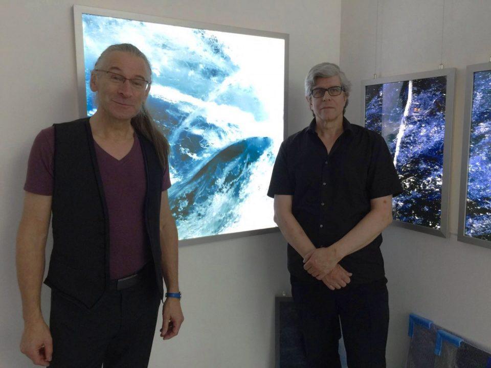 Marco Caduff und Chris Vandoni